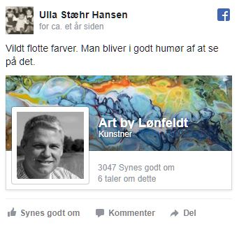 Facebook review Ulla Hansen