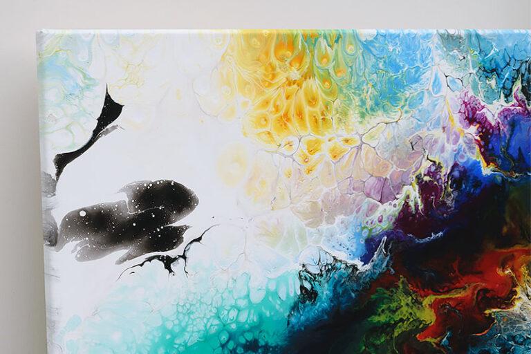 Malerier til stuen - Elevation II