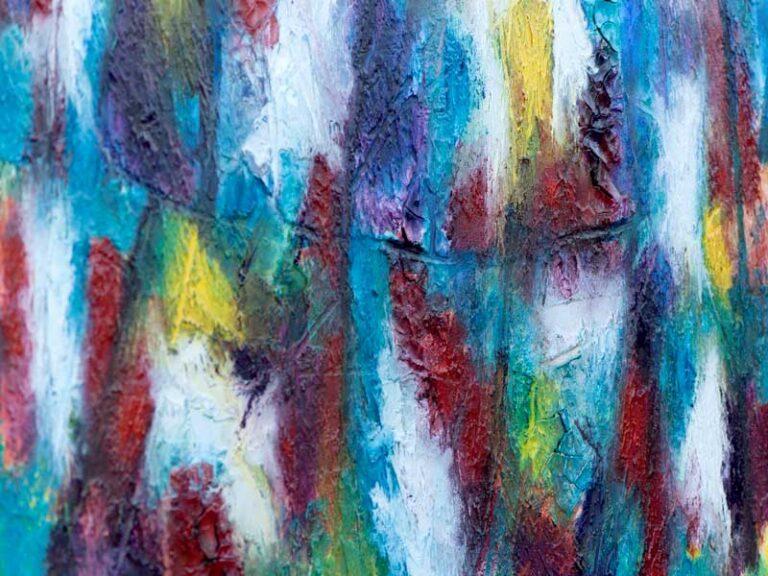 Akrylmalerier med flotte detaljer - Horizon II