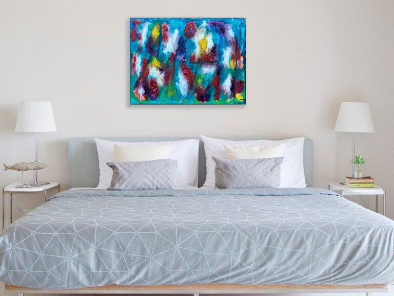 Akrylmalerier med stor dybde - Horizon II