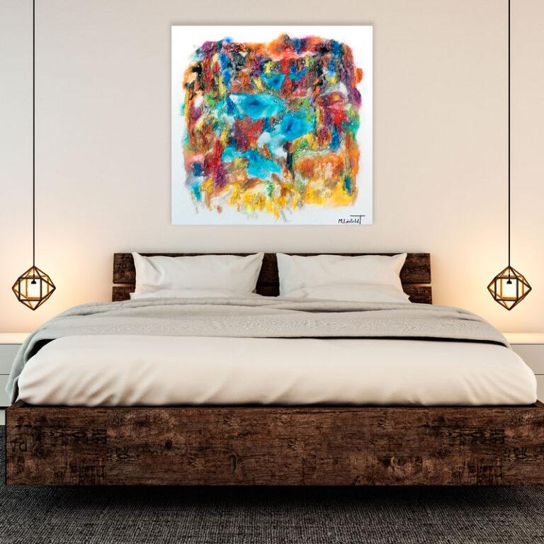 Flotte billeder til soveværelset - Nature Colors II