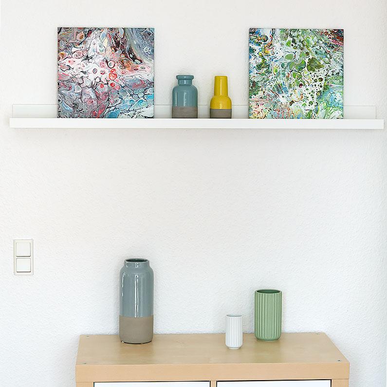 Krerative idéer til indretning med små malerier