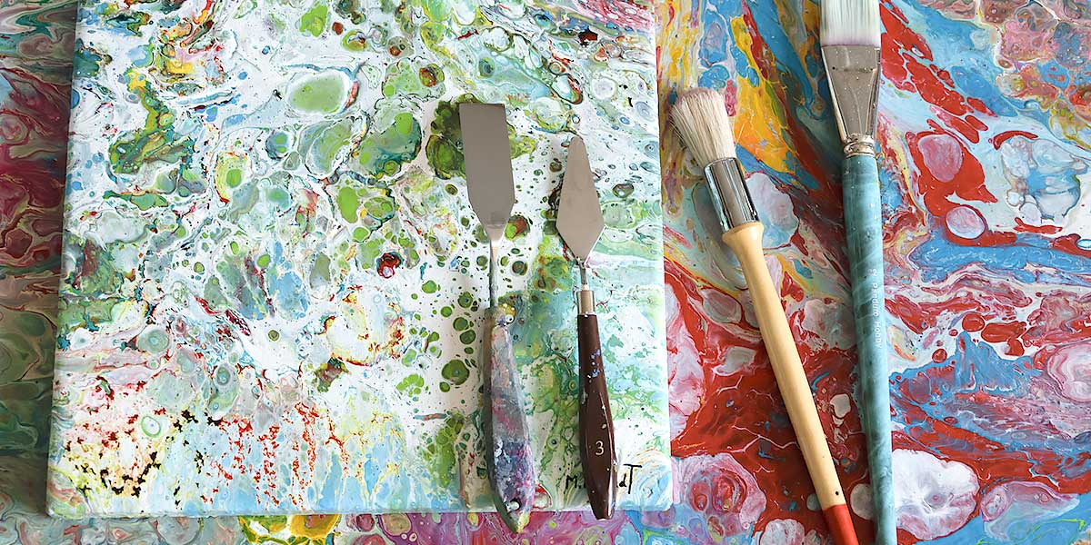 Malerier på bestilling after dine øsnker