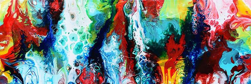 Malerier til væggen - Brilliance II