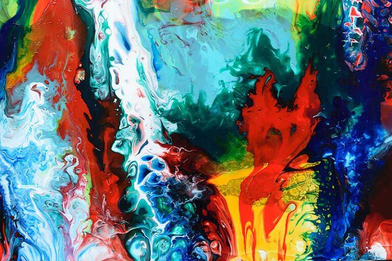 Malerier til salg galleri online - Brilliance II