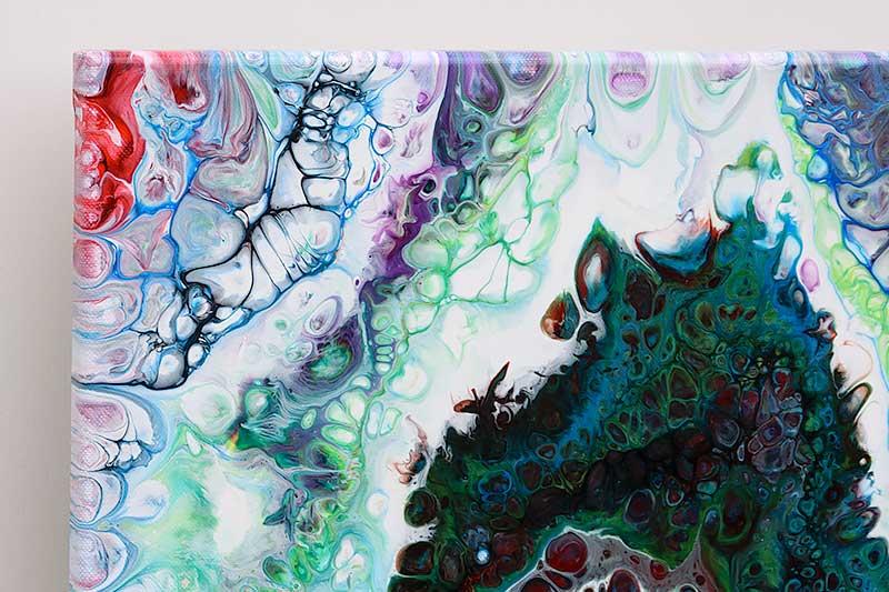 Moderne malerier med abstrakte motiver - Ascent I