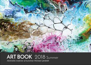Art Book 2018 Summer - kunstner Michael Lønfeldt