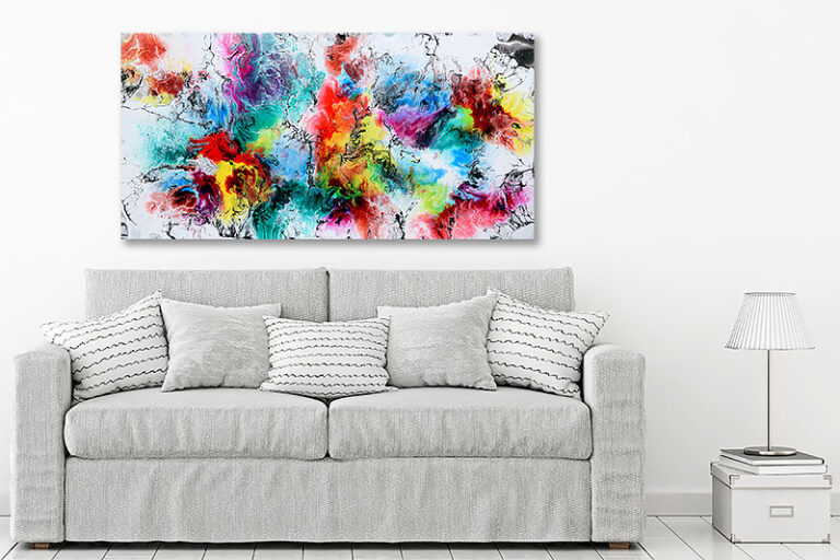 Abstrakte malerier til boligen - Altitude IV