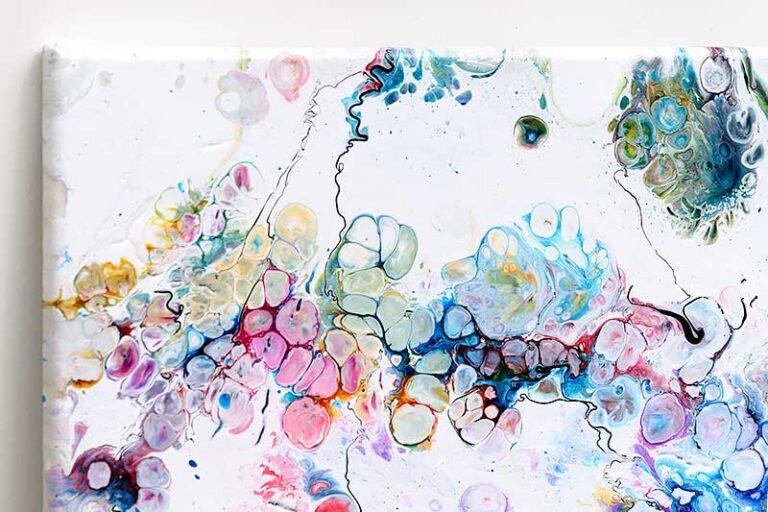 Kunst til væggen med detaljer - Alleviate I