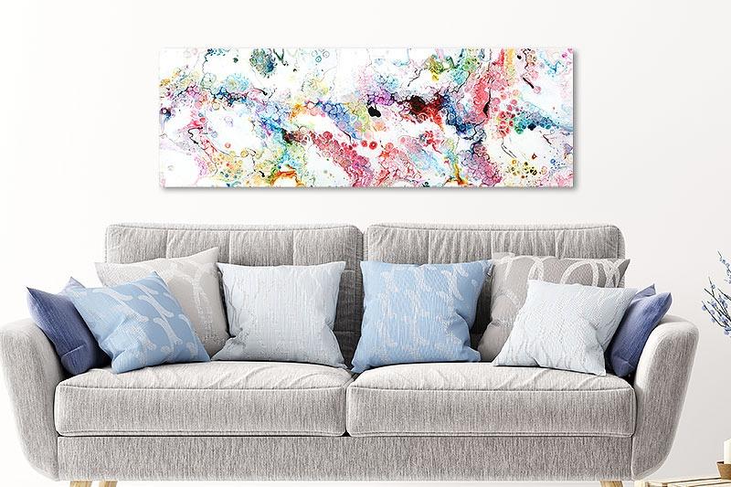 Kunst til vægge til stuen - Alleviate I