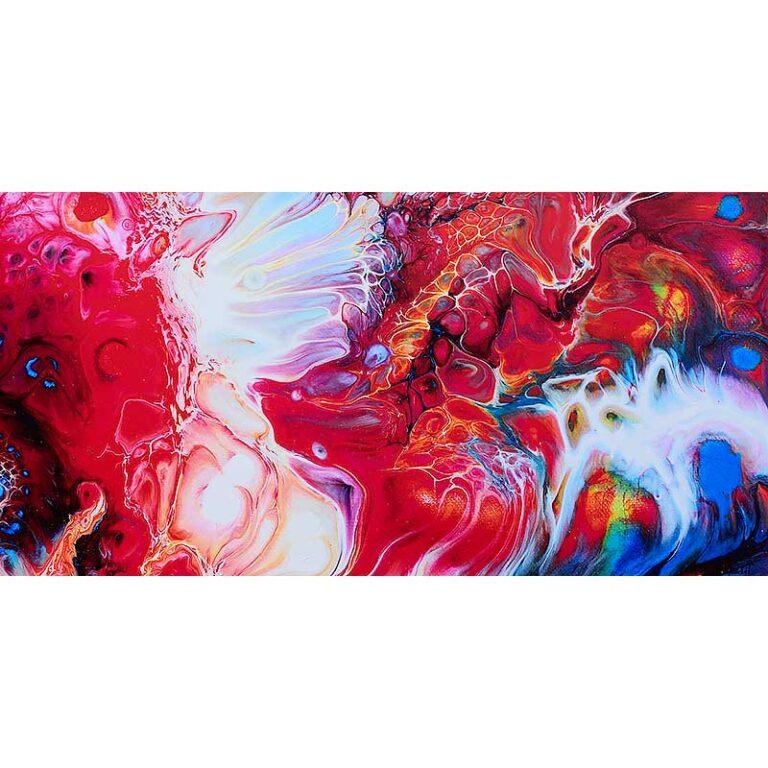 Store lærredstryk i flotte farver - Essentials II