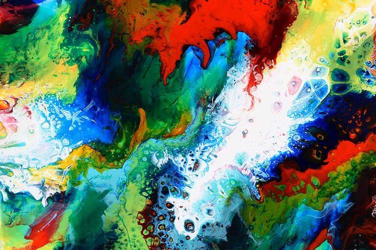 Maleri til stuen - Brilliance III