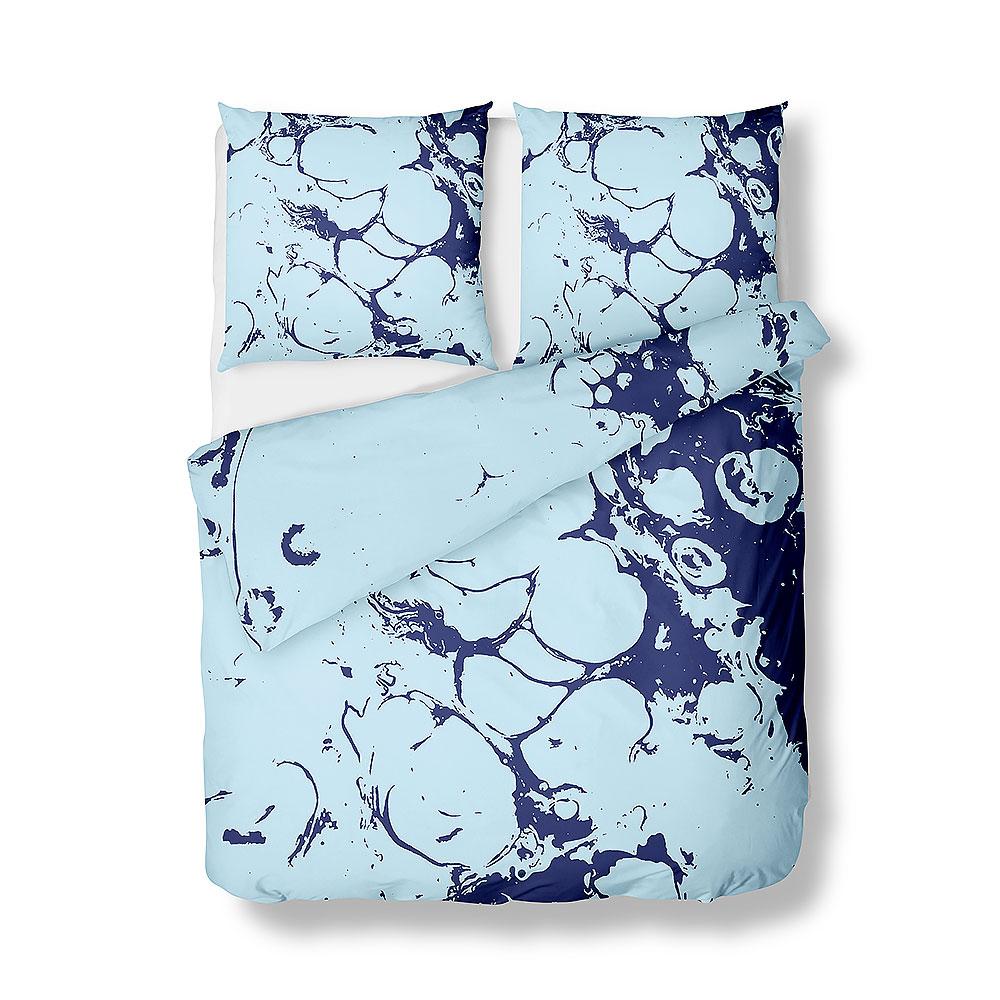 Sengetøj i smukke blå farvetoner - design 662433