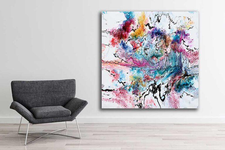 Store malerier til salg ti lstuen - Unity I
