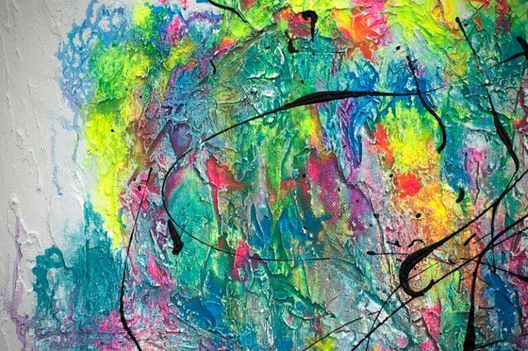 Maleri med smukke detaljer - Waterways I