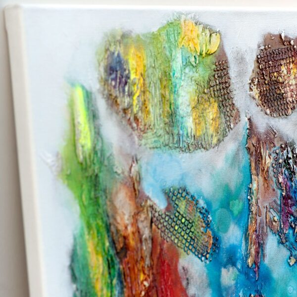 Malerier online i flotte farver - Nature Colors III