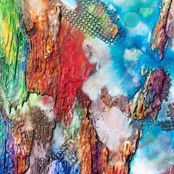 Malerier online med dejlige farver - Nature Colors III