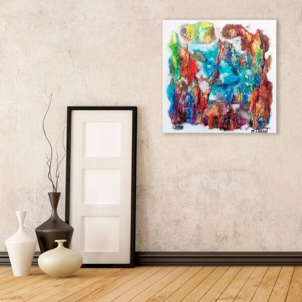 Malerier online til stuen - Nature Colors III