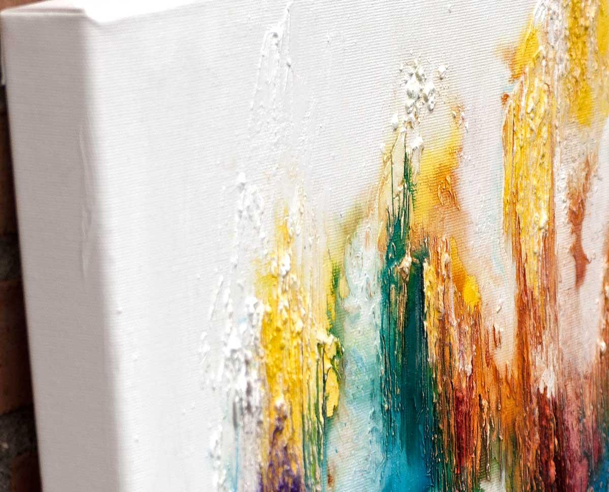 Stort maleri på dyb blindramme - Nature Colors I