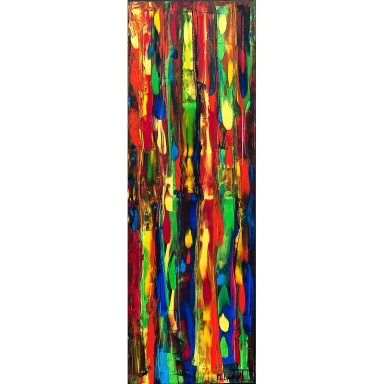 Farverigt maleri - Tirbal Colors III