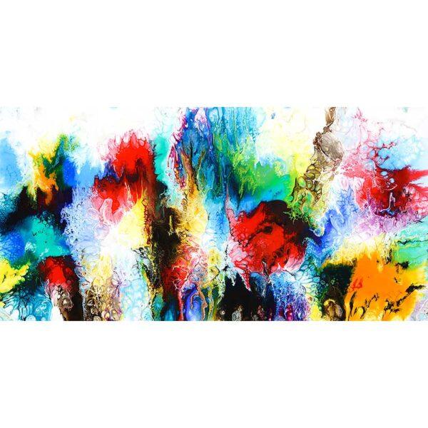 Flot maleri til væggen - Elevation IV
