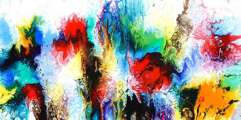 Farverigt maleri til boligen - Elevation IV