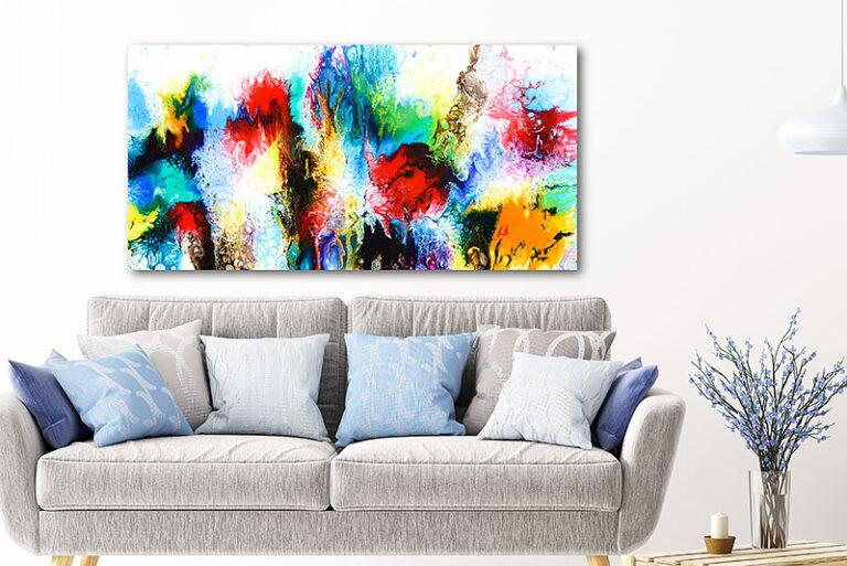 Malerier i smukke farver til boligen - Elevation IV