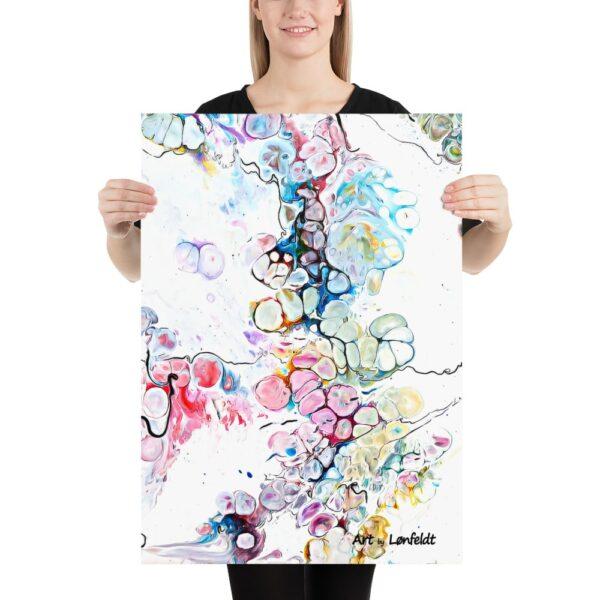 Plakater og posters - i abstrakte designs med flotte farver