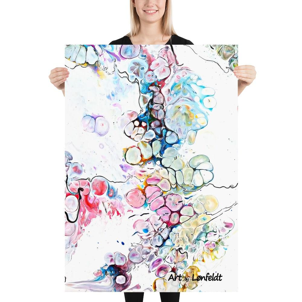 Poster plakat kunsttryk Altitude V - Farverig plakatkunst med flotte abstrakte designs