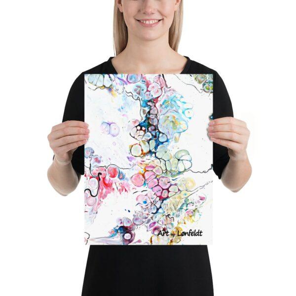 Kunst plakater i mange forskellige designs og farver - køb online