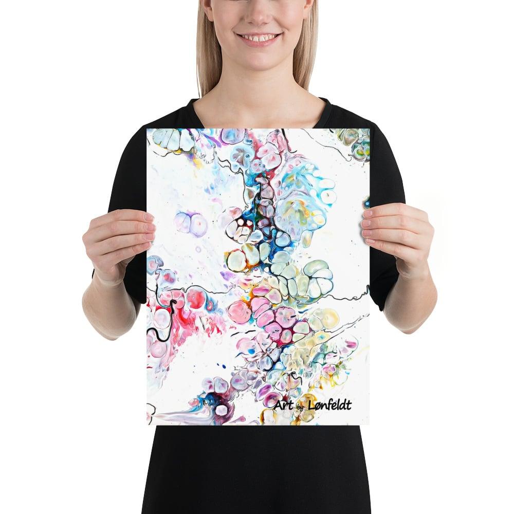 Kunst plakater i mange forskellige designs og farver - køb online Altitude V 30x40 cm