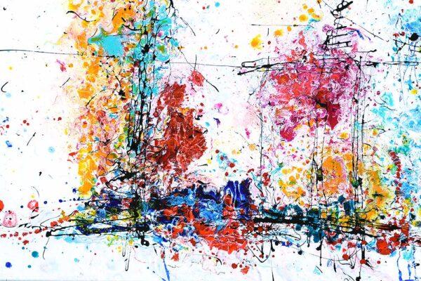 Store billeder i flotte farver - Eruption I