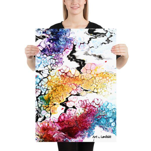Plakat med sort ramme Altitude I - Designer plakat der du kan bruget i din indretning