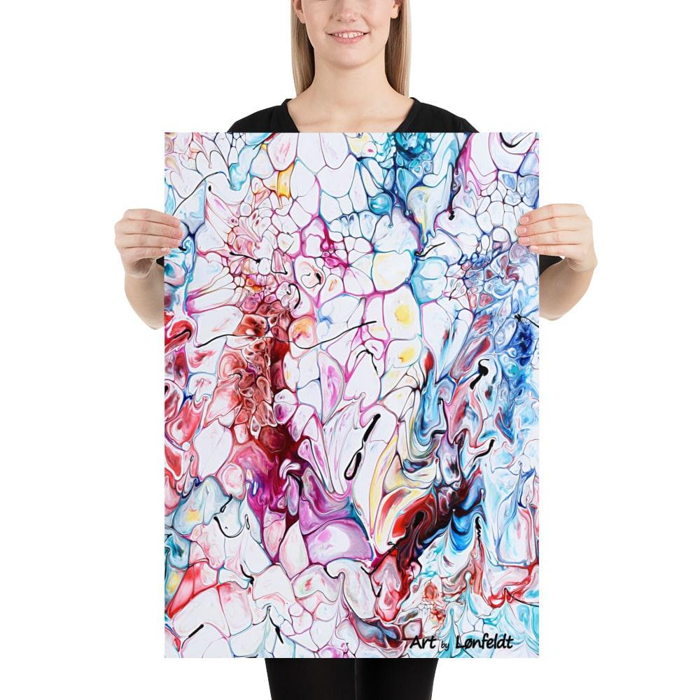Moderne plakater med abstrakt design Prime I 50x70 cm