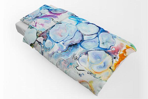 Sengetøj - blødt og lækker i 100% bomuldssatin i et flot kunstdesign