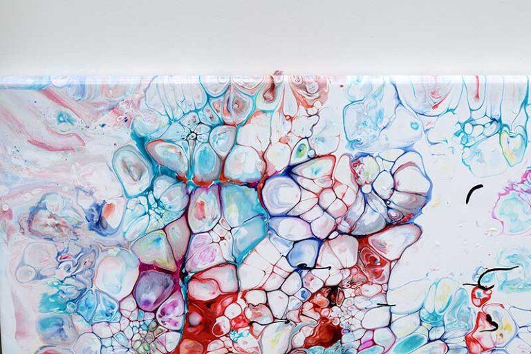 Malerier med abstrakt motiv - moderne kunst - Prime V