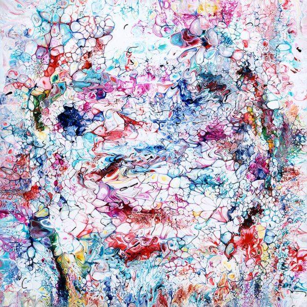 Flotte malerier med abstrakte motiver - Prime V