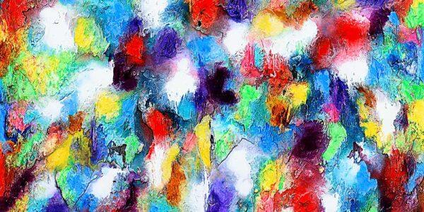 Canvasprint med abstrakt design - Alteration I
