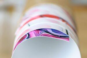 Plakater og kunstplakater trykt på et papir i høj kvalitet