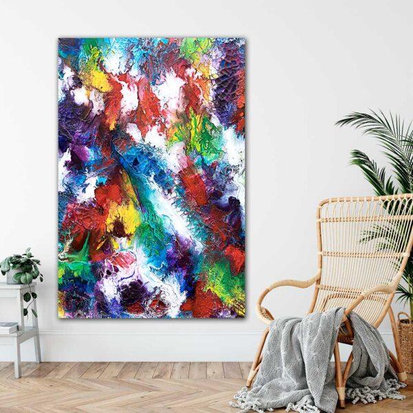 Store plakater med kunst til væggen Horizon I 100x150 cm