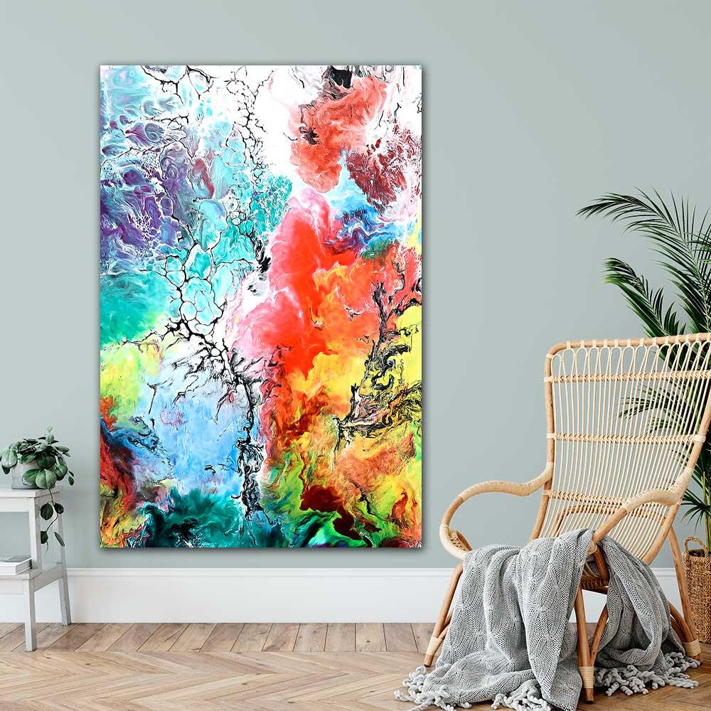 Plakater med kunst til hjemmet - Altitude III - 100x150 cm