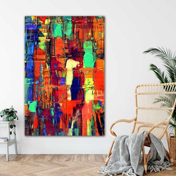 Store kunst plakater til hjemmet Fireflies II 100x150 cm
