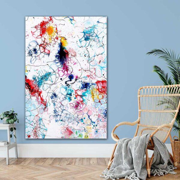 Kæmpe kunst plakater til væggen i stuen Elevation I 100x150 cm