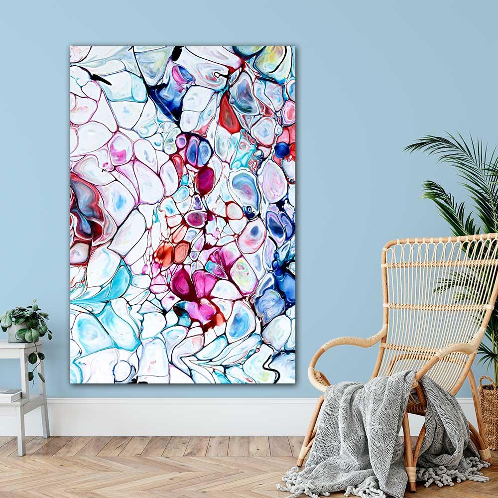 Kunst plakater til hjemmet - Prime II - 100x150 cm