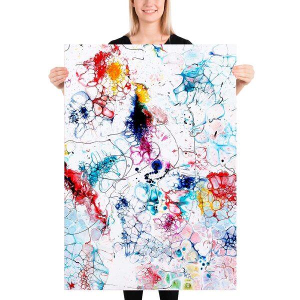 Store plakater med kunst til væggen Elevation I 70x100 cm