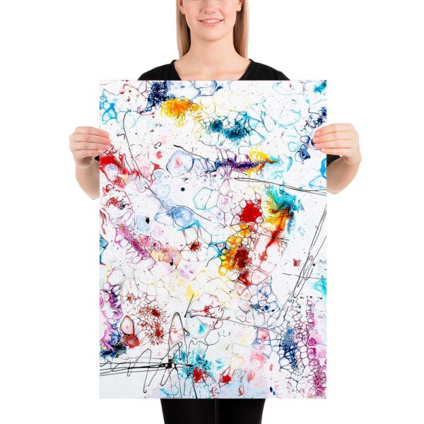 Kunst plakat Elevation II 50x70 cm