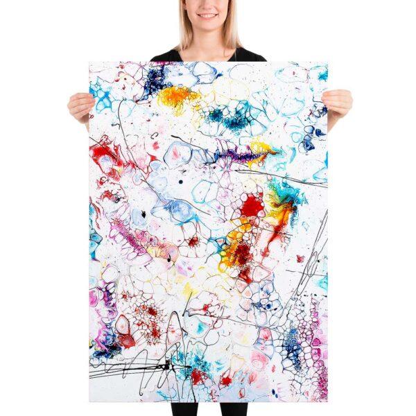 Moderne design plakater i flotte farver Elevation II 70x100 cm