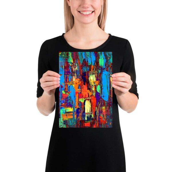 Kunstplakat Fireflies I 20x30 cm