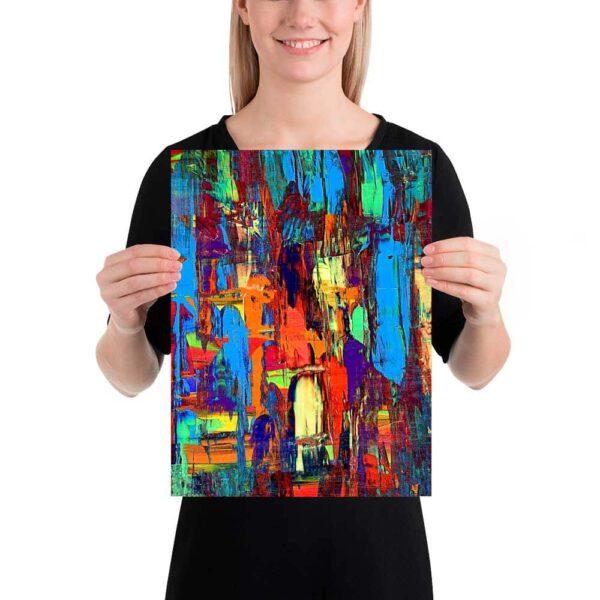 Kunstplakater Fireflies I 30x40 cm