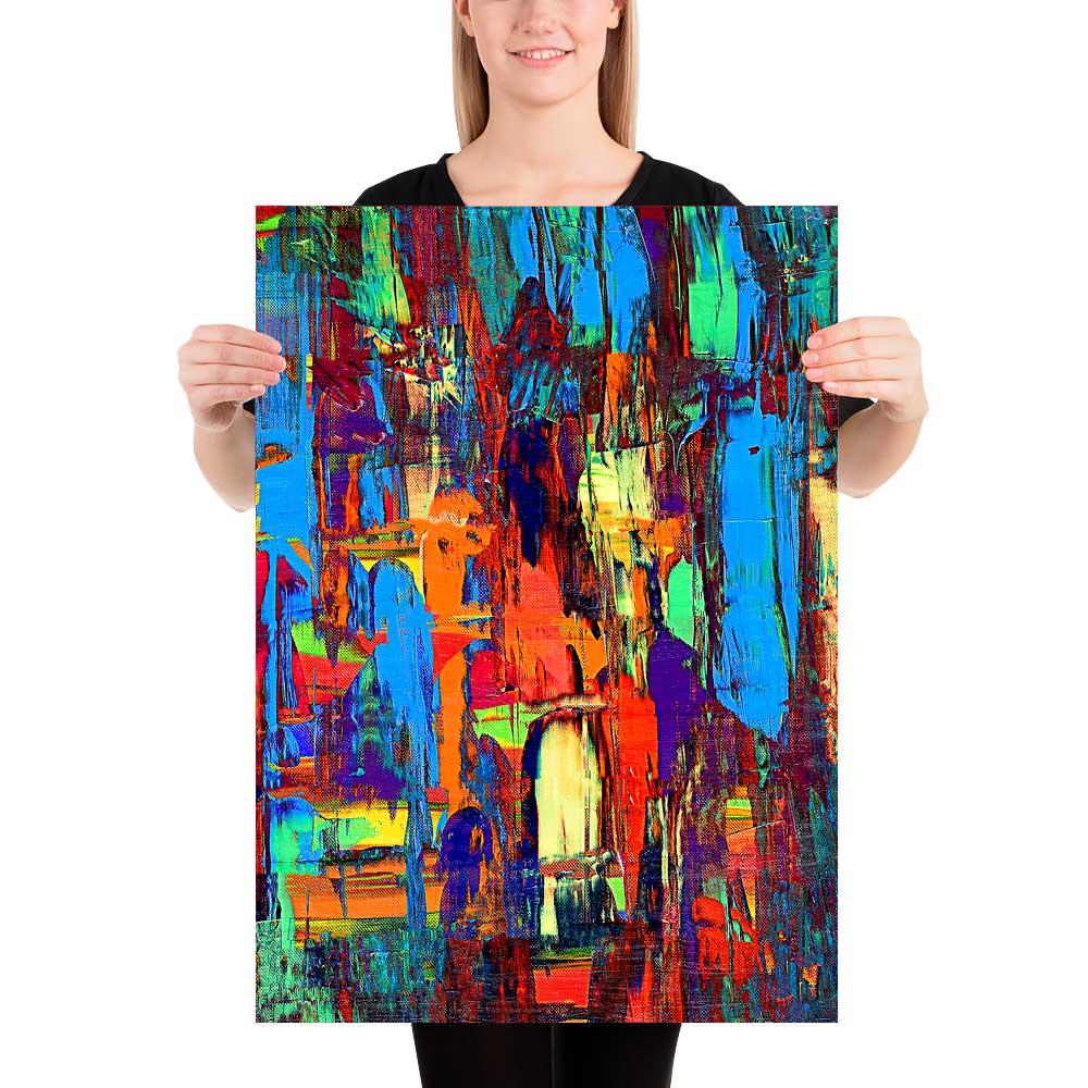Kunst plakater Fireflies I 50x70 cm
